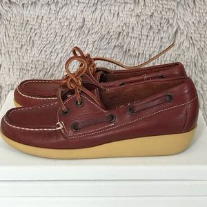 f3a64851cd2f Vintage Girls 1970s Buster Brown Docksiders Preppy